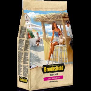 BROOKSFIELD Adult Dog Small Breed для собак мелких пород с Говядиной и рисом 0,8 кг, арт.  5651020